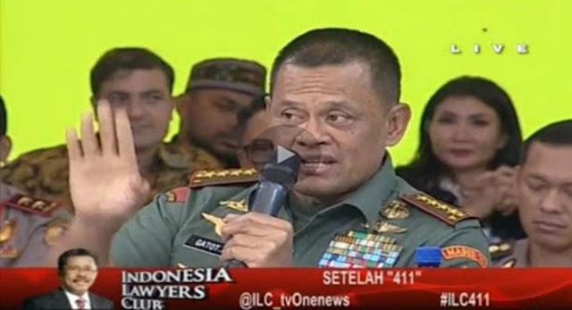 "Ditanya Perihal ""Cocok Jadi Presiden"" Ini Jawaban Panglima TNI Jendral Gatot Nurmantyo..."