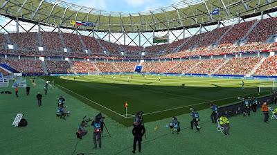 PES 2019 Stadium Volgograd Arena World Cup 2018 by Arthur Torres