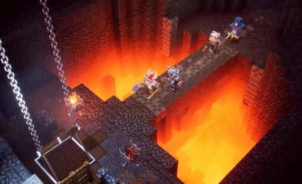 Minecraft Dungeons- Cara Membuka Kunci Soggy Caves-1