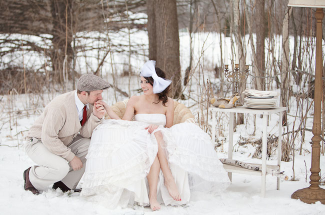Gisy S Blog When It Comes To Bridal Shoes A Winter Wedding Is The