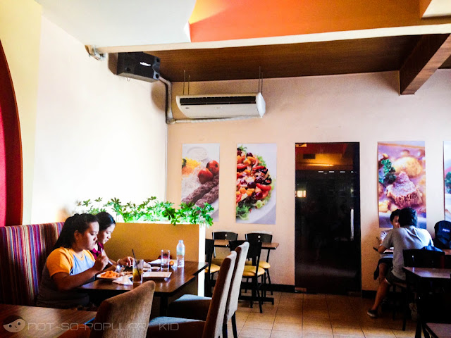 Interior - Persia Grill in University Mall Taft