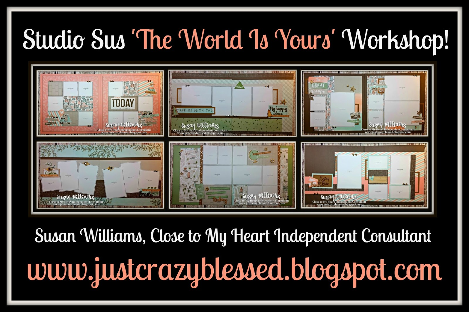 'The World Is Yours' Scrapbooking Workshop!