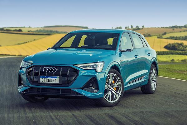 Audi e-Tron: carro elétrico mais vendido do Brasil em 2020