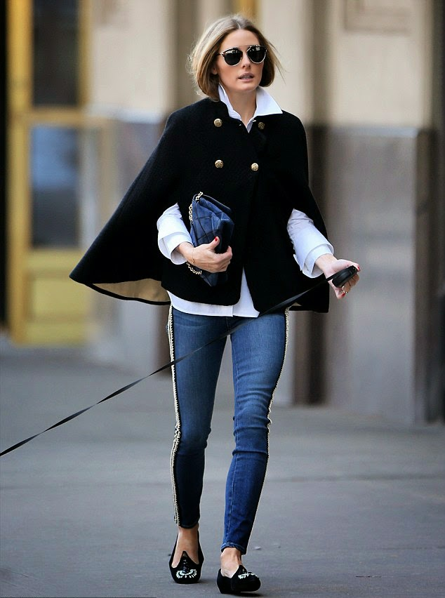 The Olivia Palermo Lookbook : Olivia Palermo In NYC