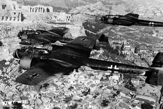 27 April 1941 worldwartwo.filminspector.com German Acropolis bombers