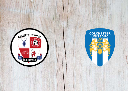 Crawley Town vs Colchester United -Highlights 29 October 2019