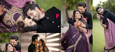 Couple Ahmed Godil and Isra