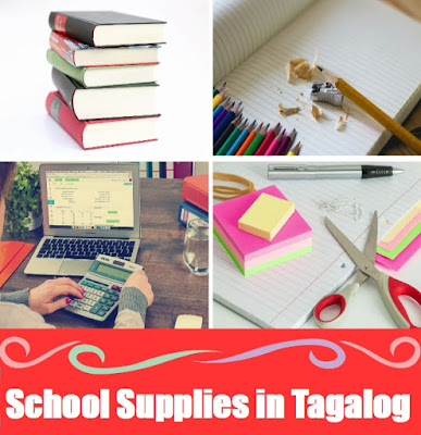 School Word List in Tagalog