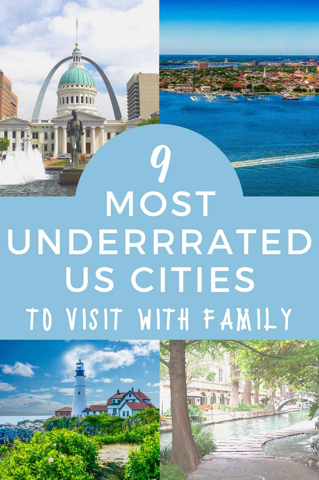 The Nine Most Underrated US Cities to Visit with Family