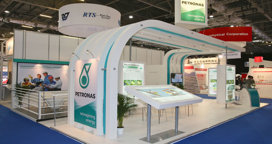 Exhibition Stand Builders Sharjah : Custom exhibition stand dubai