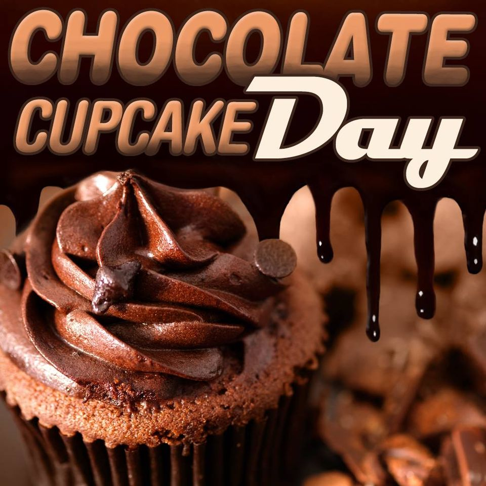 National Chocolate Cupcake Day Wishes Pics