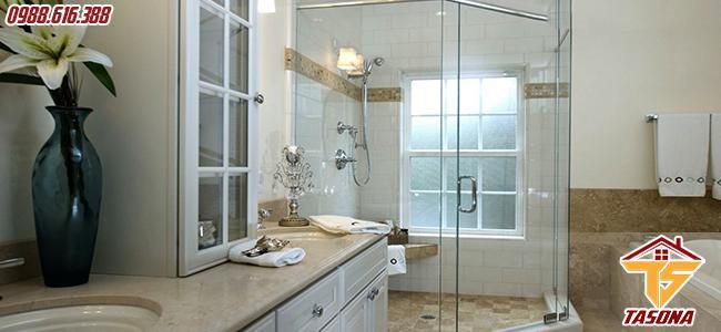 Không gian nhà tắm phong cách cổ điện
