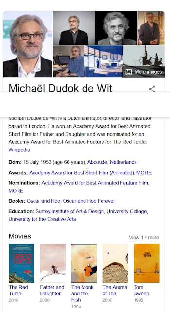 Michaël Dudok de Wit is a Dutch animator Profile in Google