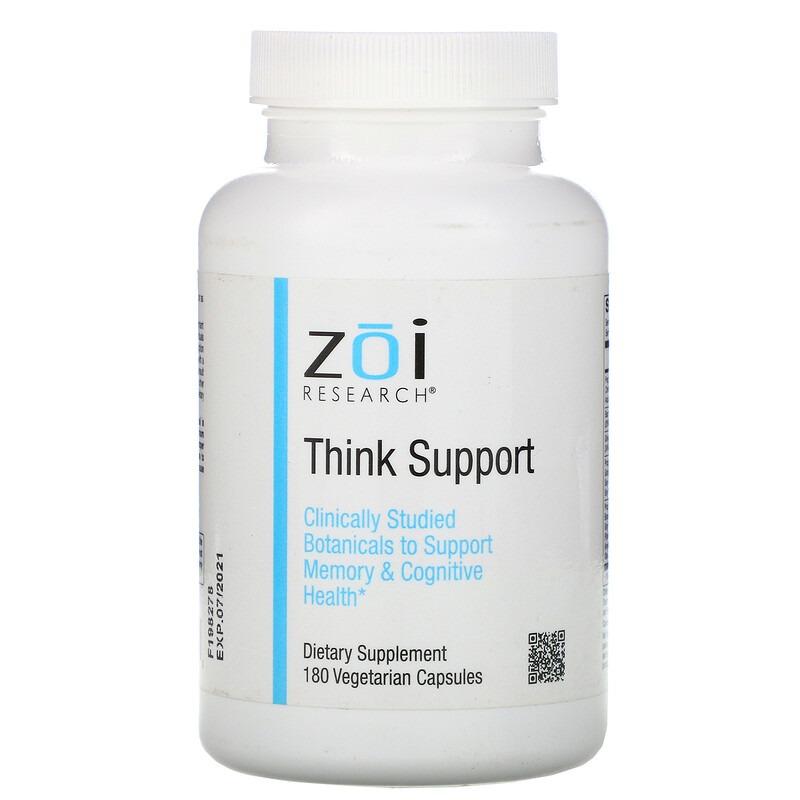 ZOI Research, Поддержка мыслительных способностей, 180 вегетарианских капсул