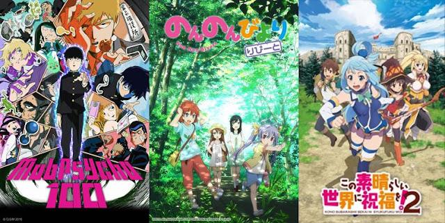 anime komedi terbaru dan terbaik 2017