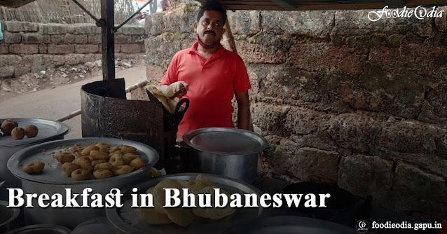 Breakfast in Bhubaneswar