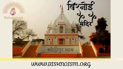 गुरु जंभेश्वर मंदिर लोदीपुर धाम : Lodhipur Dham