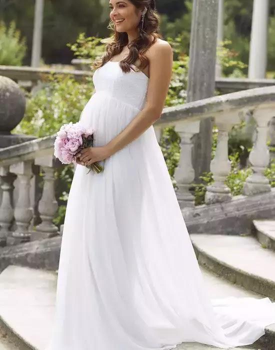 robe de mariée maternité Julia - Tiffany Rose