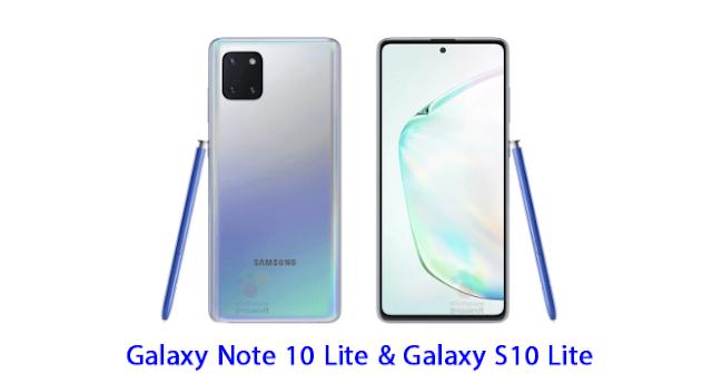 جالاكسي نوت 10 لايت (Galaxy Note 10 Lite) و جالاكسي إس 10 لايت (Galaxy S10 Lite) سيدعمان القلم الإلكتروني S Pen (تعرف على المواصفات المسربة عن الهاتفين).
