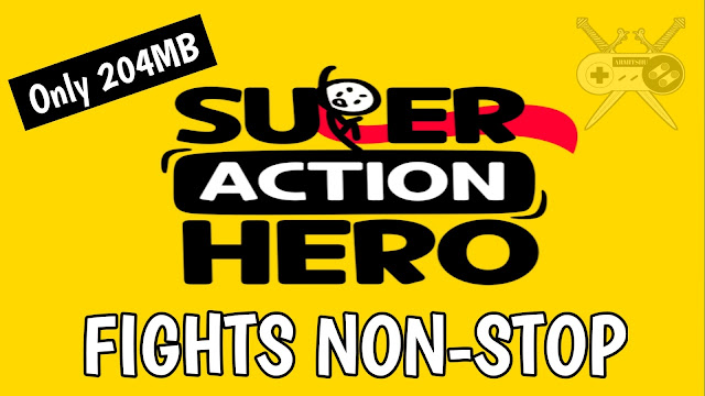 Super Hero Action: Stick Fight