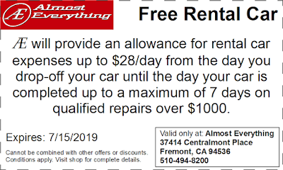 Coupon Free Rental Car June 2019