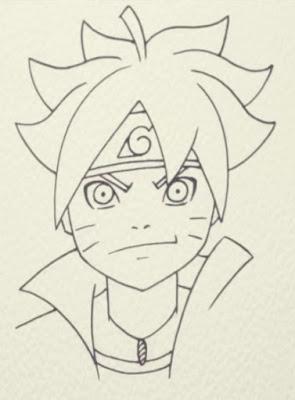 How to Draw Boruto Naruto Shippuden