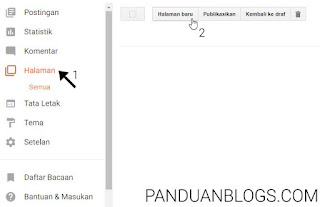 Cara Memasang Privacy Policy di Blog