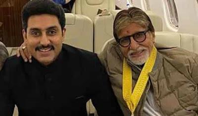 Amitabh Bacchan and Abhishek Bachchan