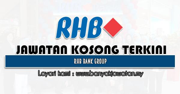 Jawatan Kosong 2021 di RHB Bank Group