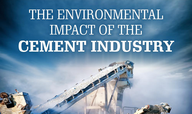 The Global Impact of Cement Industries on the Environment #infographic