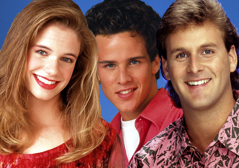 Kimmy Gibbler, Joey Gladstone y Steve Hale, personajes de Padres Forzosos (Full House)