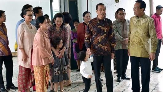 Aksi Menggemaskan Jan Ethes saat Diajak Jokowi Bertemu Sultan HB X