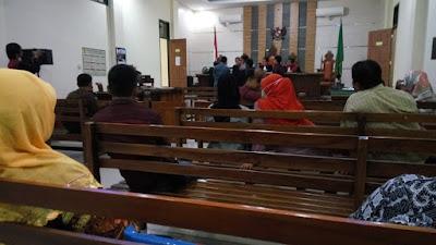 Majelis Hakim Periksa 6 Saksi Kasus Teror Bom Transmart Lampung