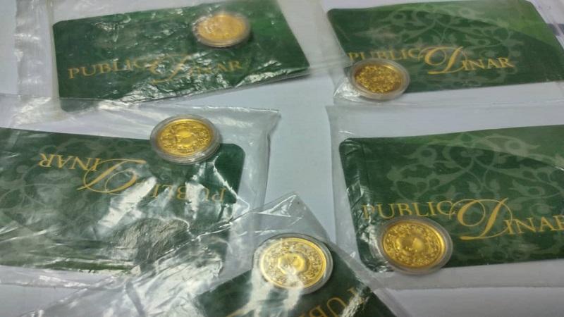 Dah Jual Semula Dinar Emas Public Gold