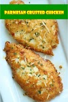 #Parmesan #Crusted #Chicken