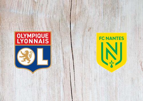 Olympique Lyonnais vs Nantes -Highlights 23 December 2020