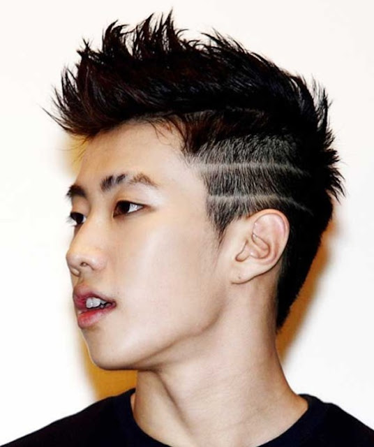 Gaya Rambut Pria Ala Artis Korea Fohawk