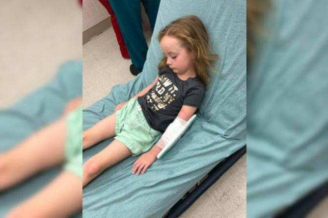 garotinha de 5 anos fica paralisada após mordida de carrapato e mãe alerta