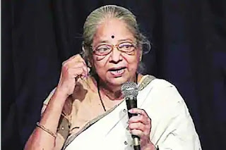 Pushpa-Bhave-passed-away