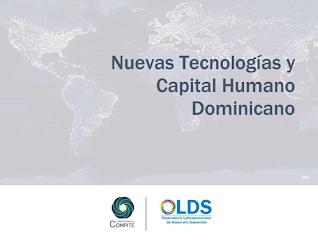 Nuevas tecnologías y capital humano dominicano