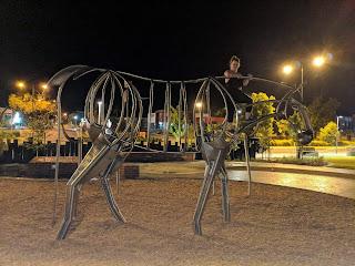 Public Art by Xavier Pinard in Wodonga
