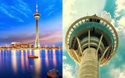 Melongok Kemegahan Macau Tower Dalam Paket Tour Hongkong