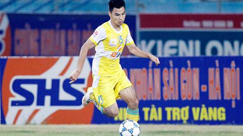 Cầu thủ Đức Huy là cái tên nổi bật trong chiến dịch thăng hạng ở mùa trước của CLB Hà Nội