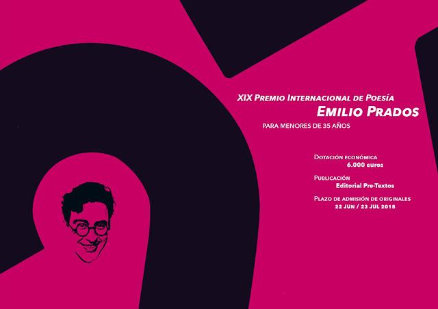 Premio Internacional de Poesía Emilio Prados 2018