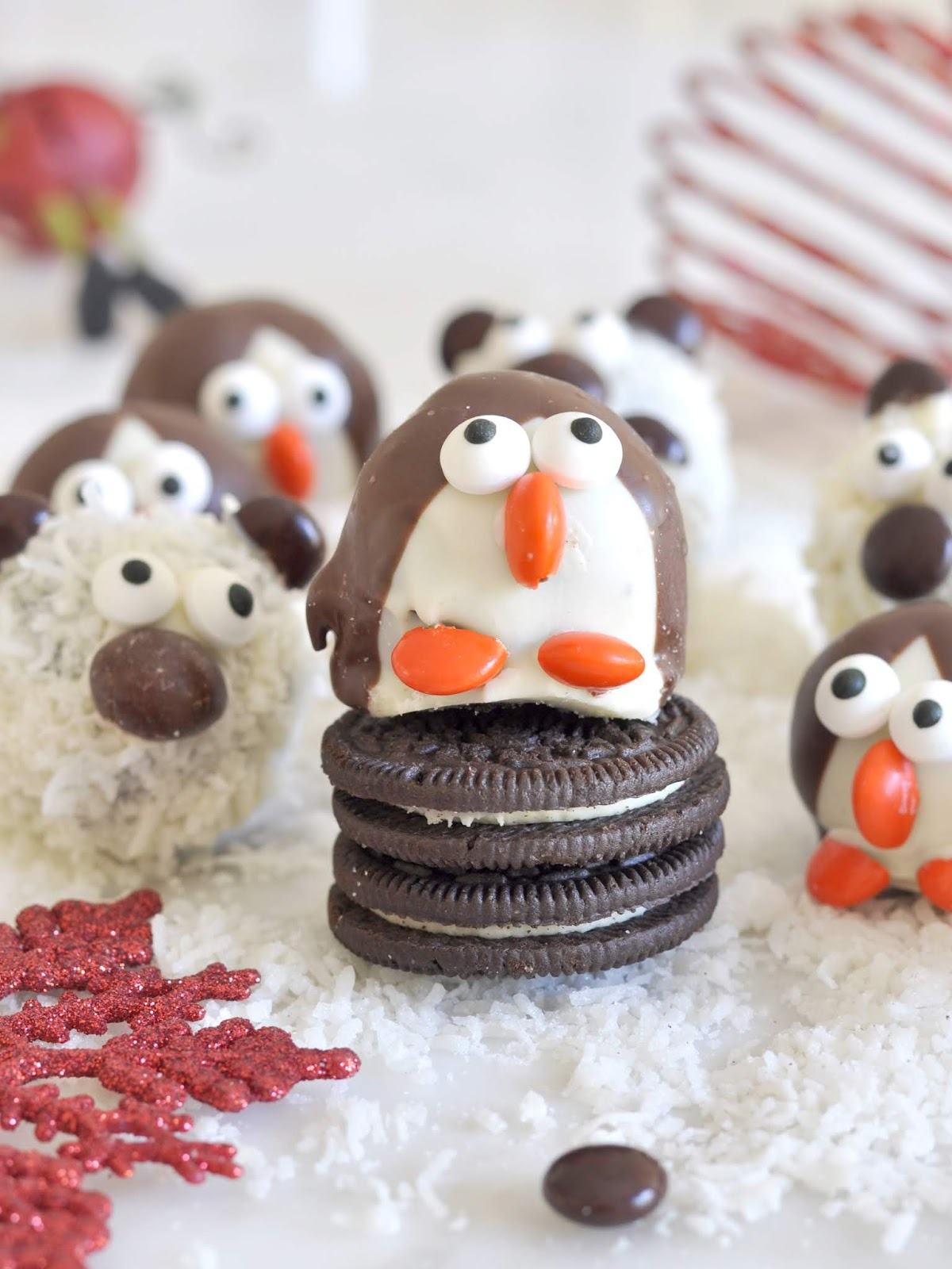 Cooking With Manuela How To Make Penguin And Polar Bear Oreo Cookie