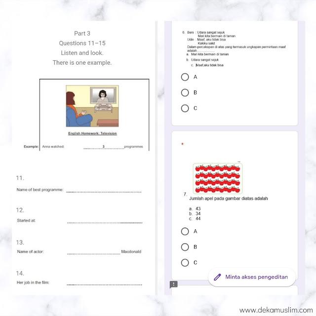 contoh-soal-ujian-online