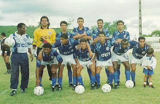 Time do Barra Mansa Campeão da 2a Divisão de 1995