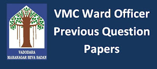 VMC Ward Officer Old Question Paper and Syllabus 2019 - GPMC Act Questions