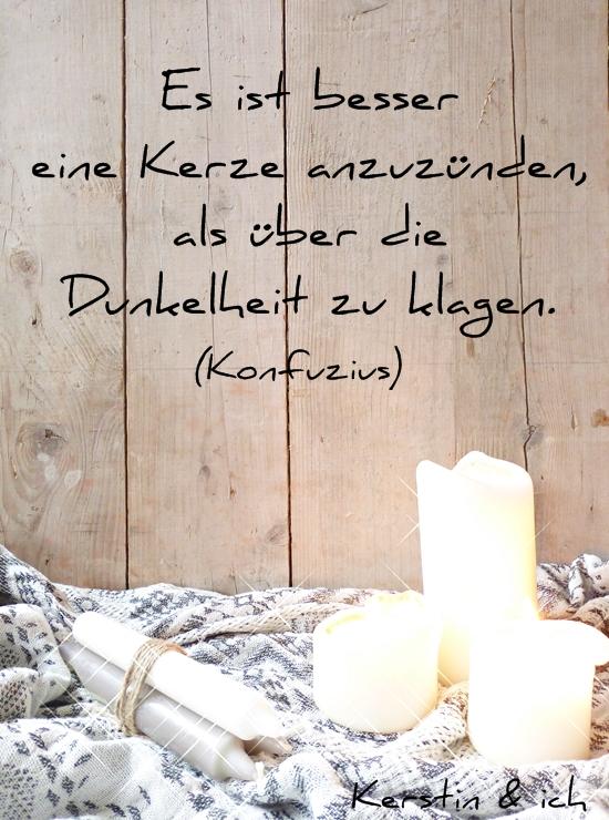 Zitat Spruch Kerze