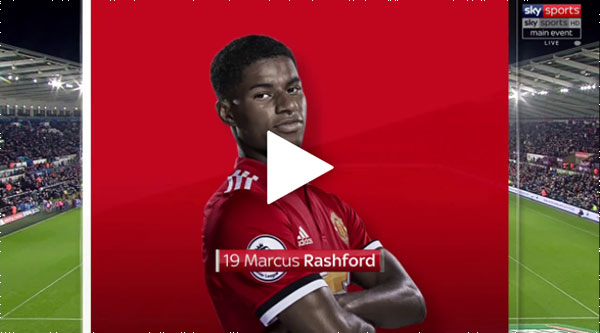 Video Swansea City 0 - 2 Manchester United